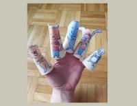Ана Ана - хартиени марионетки за пръсти