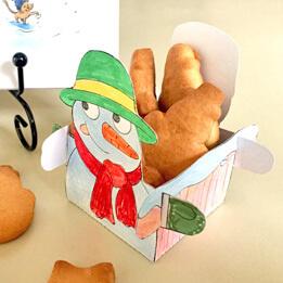 Кошничка за бисквити